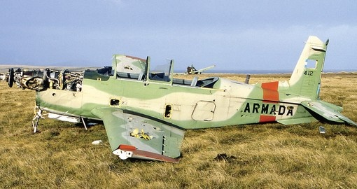 Relics from the Falklands war