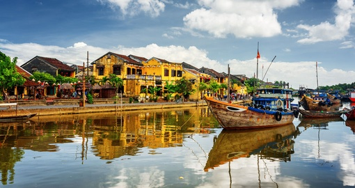 Take time to explore and shop in Hoi An on your Vietnam vacation