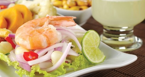 Try the famed Peruvian Ceviche on your Peru Tour