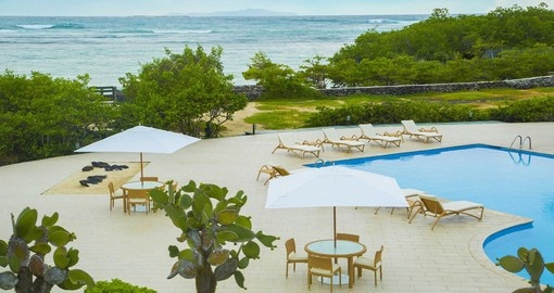 Stay at The Finch Bay Hotel on Galapagos vacation