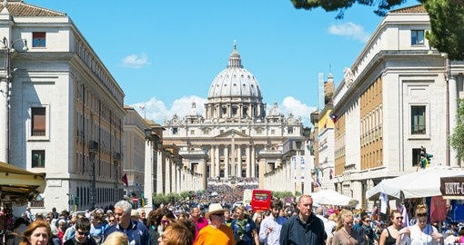 The Vatican - for many the highlight of their Italy vacation.