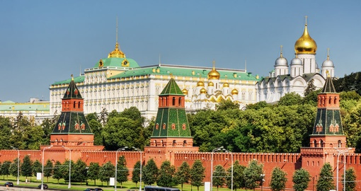 Experience Kremlin on your during your next trip to Russia