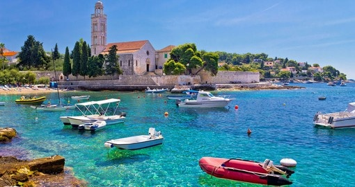 Turquoise sea of Hvar island will leave you speechless on your next trip to Europe.