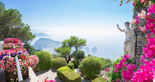 Enjoy the stunning scenery of Capri on your Italy vacation