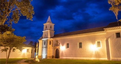 San Francisco convent in Villa de Leyva is part of your Colombia vacation packe