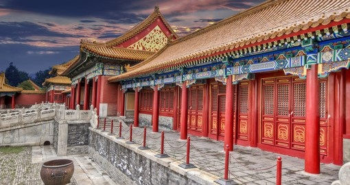 Explore the Forbidden city in Beijing on your next China Vacation.