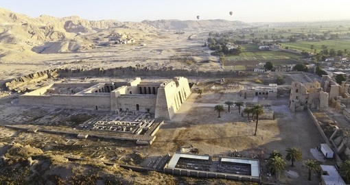 A temple at the Valley of the Kings is a great photo opportunity during your Egypt vacation.