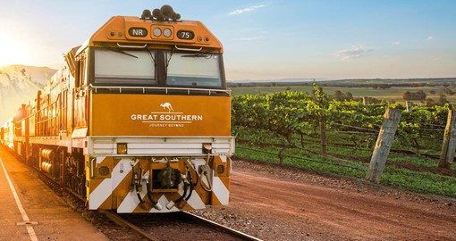 Step aboard the newest rail experience in Australia and prepare to explore a very special region