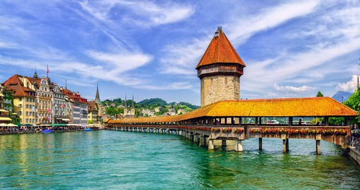 Lucerne is home to some of the best preserved medieval architecture in Europe