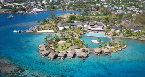 Stay at the Intercontinental Tahiti Resort during your Tahiti vacation.