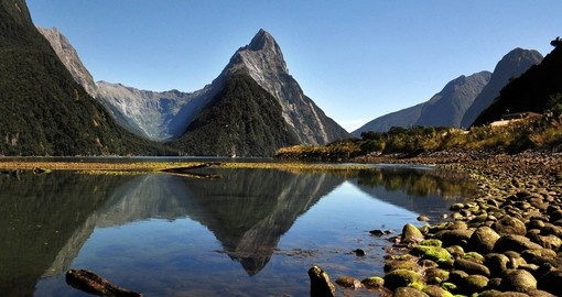 Visit magnificent Milford Sound on your New Zealand Tour