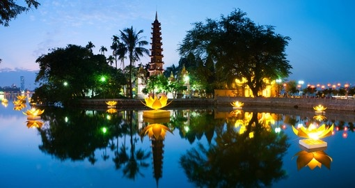 See the Tran Quoc Pagoda on your Vietnam Vacation