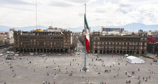 Stroll through Constitution Square on your trip to Mexico
