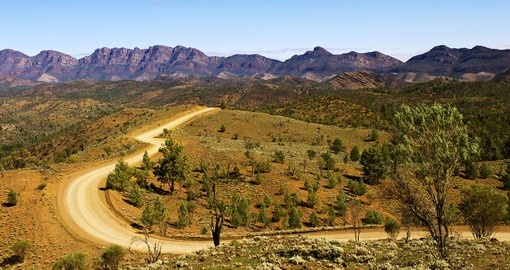 Take the Panorama Road in Flinders Range during your next self drive on your next Australia tours.