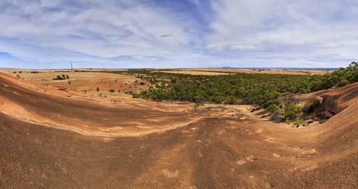 Panoramic View from the top of Mount Wudinna