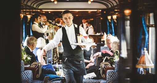 Experience a world of timeless glamour aboard the Venice-Simplon Orient Express