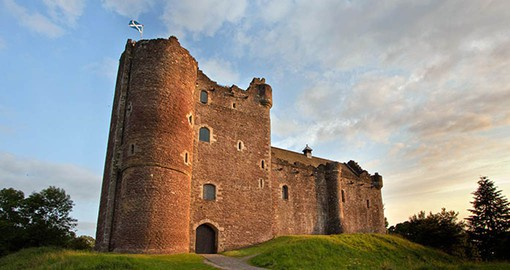 Visit the medieval stronghold know as Doune Castle on your Trip to Scotland