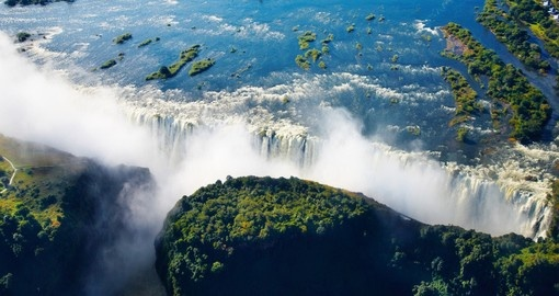 The Zambezi River and Victoria Falls - two of the most important inclusions on all Zimbabwe vacations.