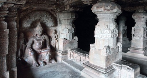 Panoramic Ellora Caves
