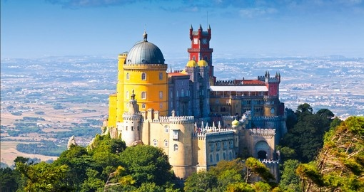 Visit National Palace in Sintra during your next Portugal vacations.