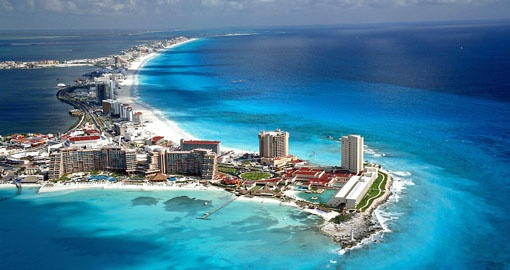 Explore Cancun on your next trip to Mexico.