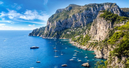 Spend a day exploring Capri on your Italy vacation