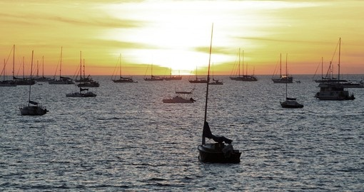 Visit some of the many beautiful harbours in Darwin, Australia during your next Trip to Australia.