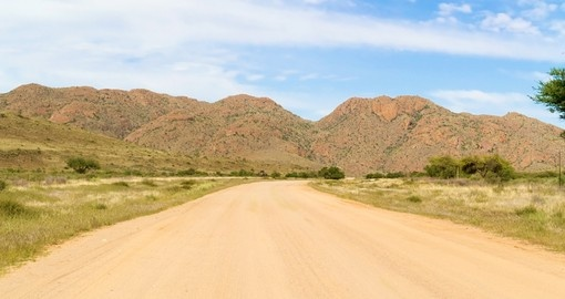 Your Namibia Safari takes you to visit the Namib Desert.