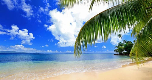 Stroll beautiful beaches on your trip to Fiji