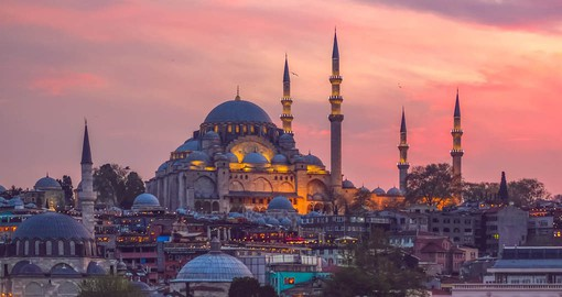 For more than 1500 years Istanbul was the capital of Roman, Byzantine and Ottoman Empires