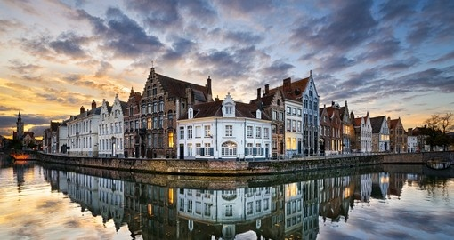 Drive over to the historic city of Bruges during your Netherlands tour.