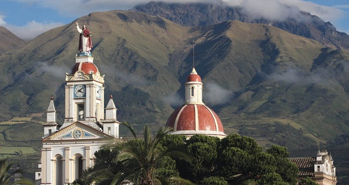Take in the spectacular views of Cotacachi on your Ecuador Tour