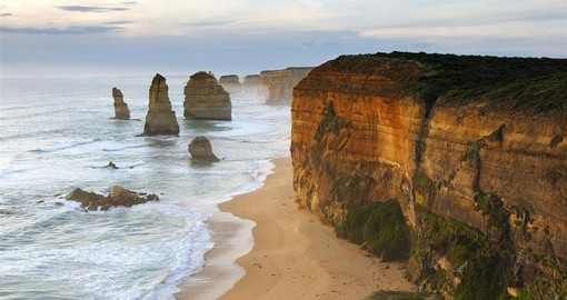 Spectacular coastal views await along the Great Ocean Road on your trip to Australia