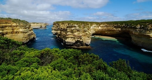 Explore Rocks in Port Campbell National Park on your next trip to Australia.