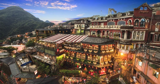 Spend a day in Jiufen on your Taiwan Tour