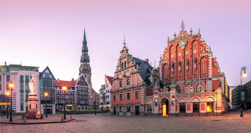 City hall Square,  Riga