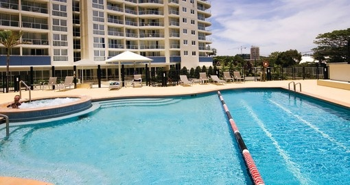 Outrigger Twin Towns, Pool View