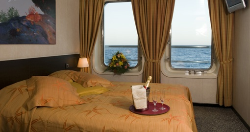 The Cabin on the MS La Belle de Adriatique.