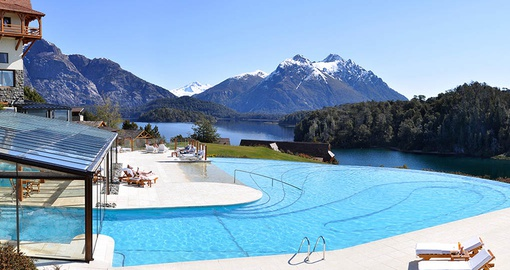 Pool at Llao Llao