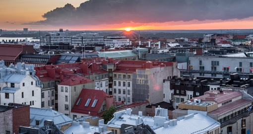 Visit the design district in Helsinki on your Finland tour