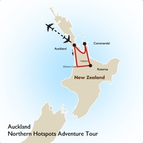 Auckland: Northern Hotspots Adventure Tour