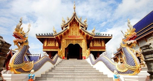 Immerse yourself in many of the famous temples Chiang Mai has to offer during your Thailand Vacation
