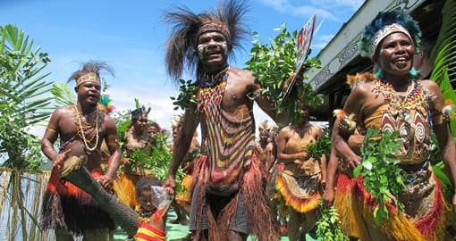 Get to know the locals on your Papua New Guinea vacation