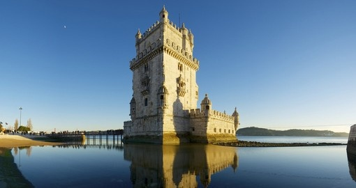 Visit Belem Tower and explore this beautiful defense tower of 16th century on your next Portugal vacation.