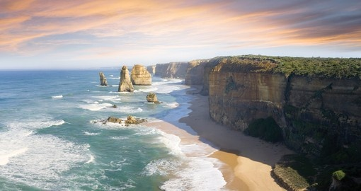 Breath taking scenery along the Great Ocean Road is a memorable part of your trips to Australia