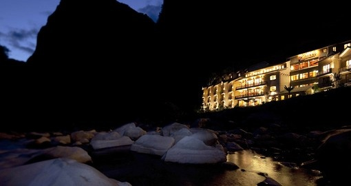 Experience Sumaq at night during your next trip to Peru.