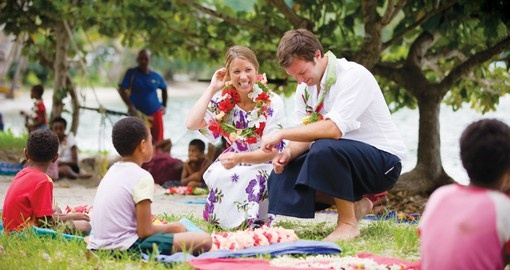 Included in one of your Fiji Vacation Packages is a visit to a local Fijian village where you will learn about local culture and