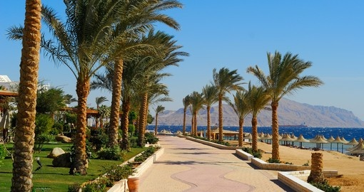 Spend part of your Egypt vacation on the Sharm El Sheik Promenade