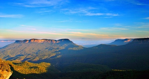 Visit The Blue Mountains National Park during your Australia Vacation