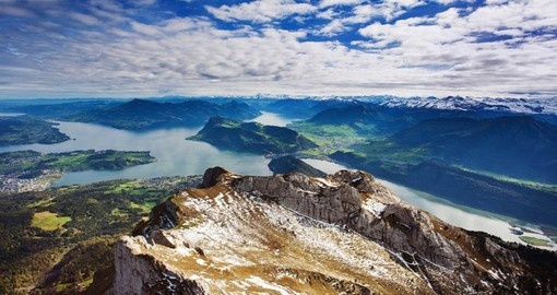 Explore Alps from Mount Pilatus during your next Europe vacations.